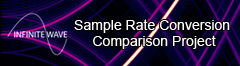 Infinite Wave Sample Rate Conversion Comparison Project